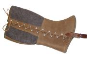 handgemachte Ledergamaschen